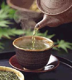 une séance autour d'un thé
