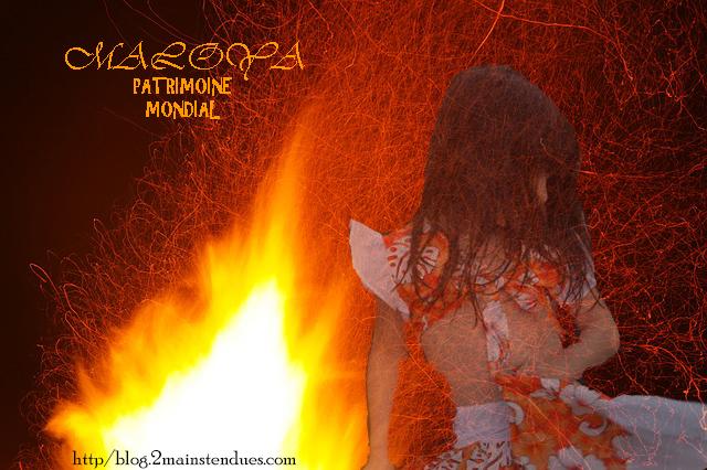 Danser le maloya autour du feu